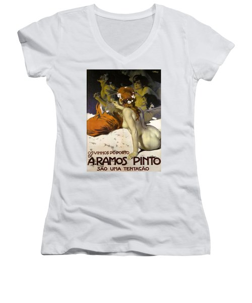 A.ramos Pinto Women's V-Neck (Athletic Fit)