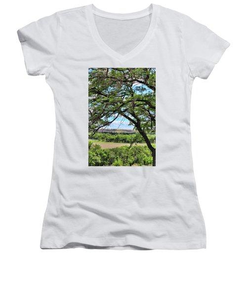 Arbor Vista Women's V-Neck T-Shirt