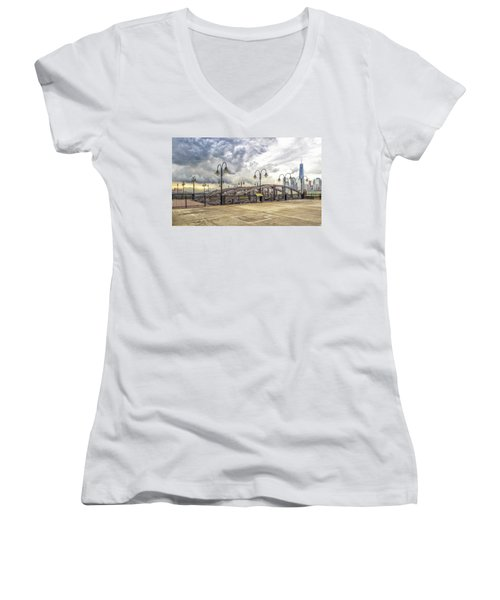 Arc To Freedom One Tower Image Art Women's V-Neck