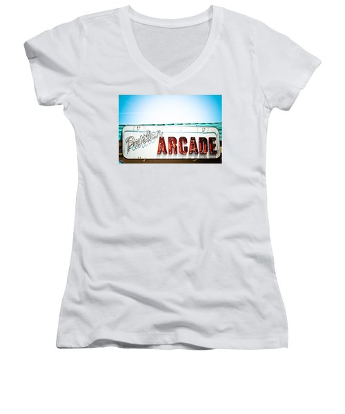 Arcade Women's V-Neck