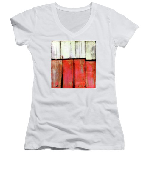 Art Print Abstract 88 Women's V-Neck