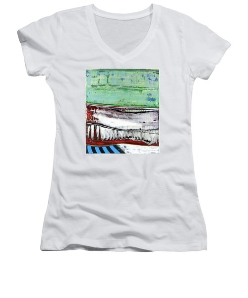 Art Print Abstract 97 Women's V-Neck