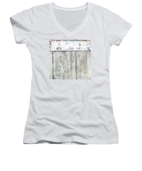 Art Print Abstract 101 Women's V-Neck (Athletic Fit)