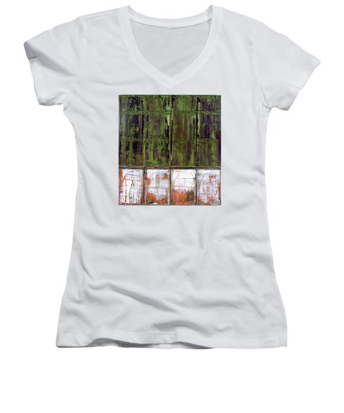 Art Print Matchday Women's V-Neck (Athletic Fit)
