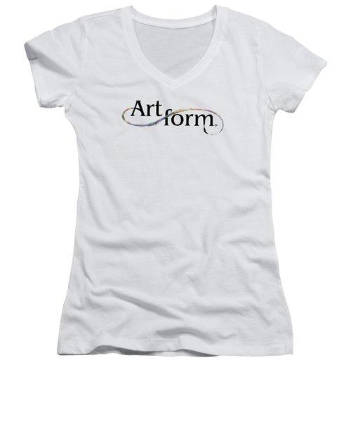 Artform02 Women's V-Neck T-Shirt (Junior Cut) by Arthur Fix