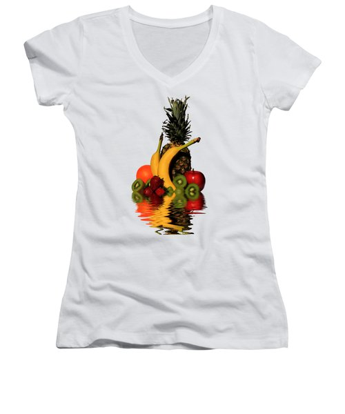 Fruity Reflections - Light Women's V-Neck
