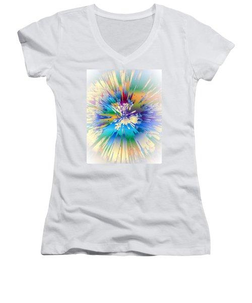 Coloratura Soprano Women's V-Neck T-Shirt