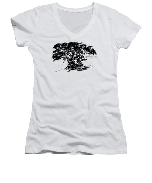 Treasure Life. 2010 Women's V-Neck T-Shirt
