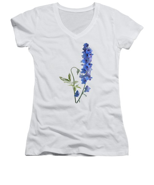 Consolida Women's V-Neck T-Shirt (Junior Cut) by Ivana Westin