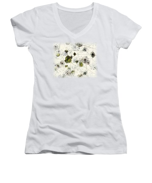 Neural Network Women's V-Neck