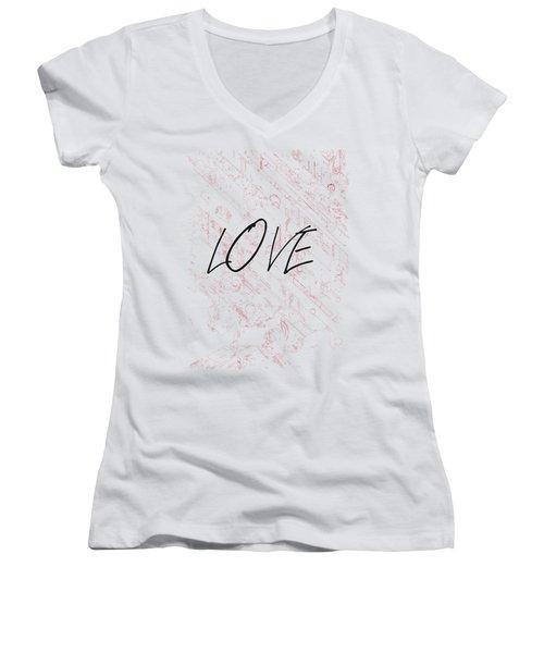 Love Women's V-Neck