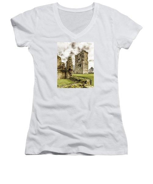 Ashby Castle Women's V-Neck