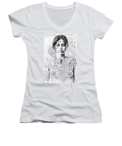 Asking The Right Questions Women's V-Neck