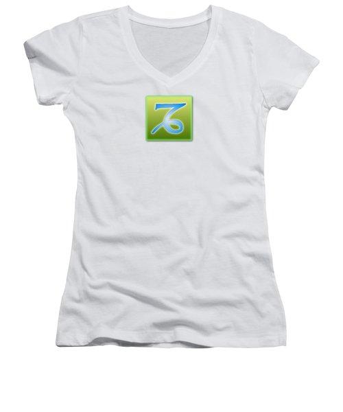 Capricorn Sun Sign Astrology  Women's V-Neck T-Shirt