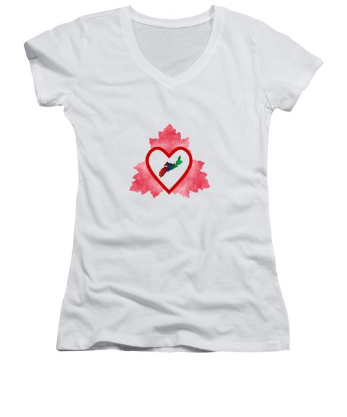 Atlantic Canada Women's V-Neck T-Shirt