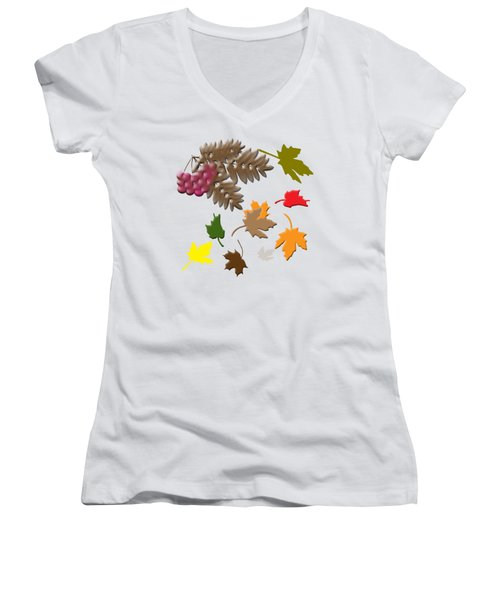 Autumn Women's V-Neck