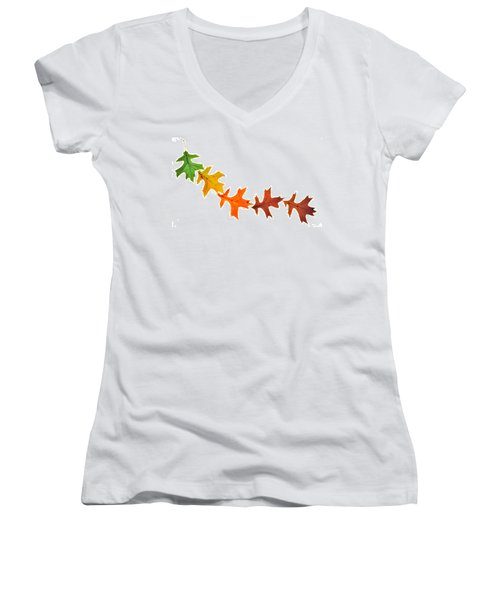 Autumn Leaves 1 Women's V-Neck