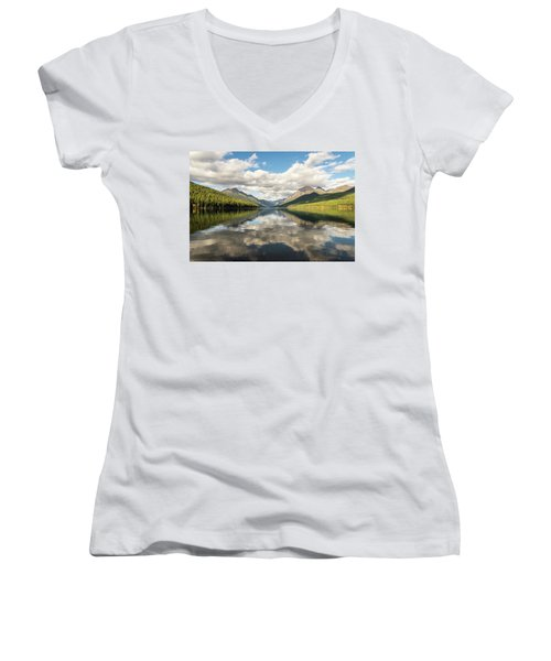 Avenue To The Mountains Women's V-Neck (Athletic Fit)