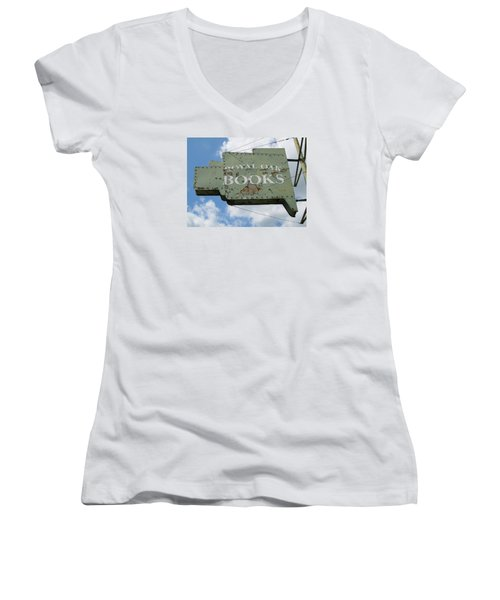 A Sign Of The Times Women's V-Neck T-Shirt