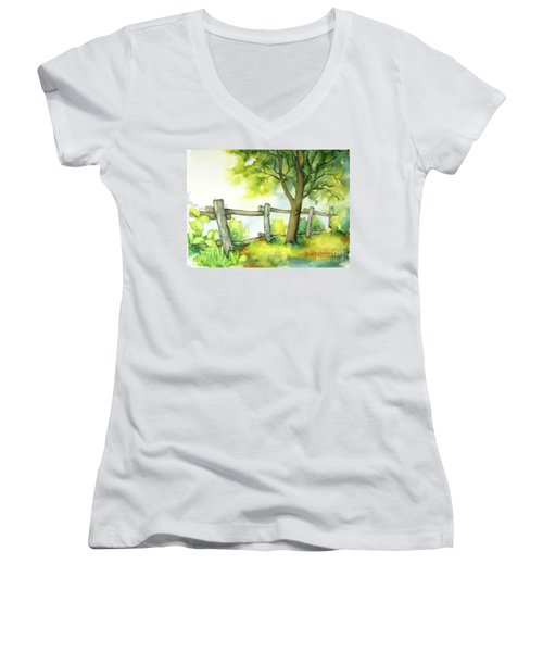 Backyard 1 Women's V-Neck