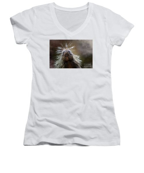Bad Hairday Women's V-Neck