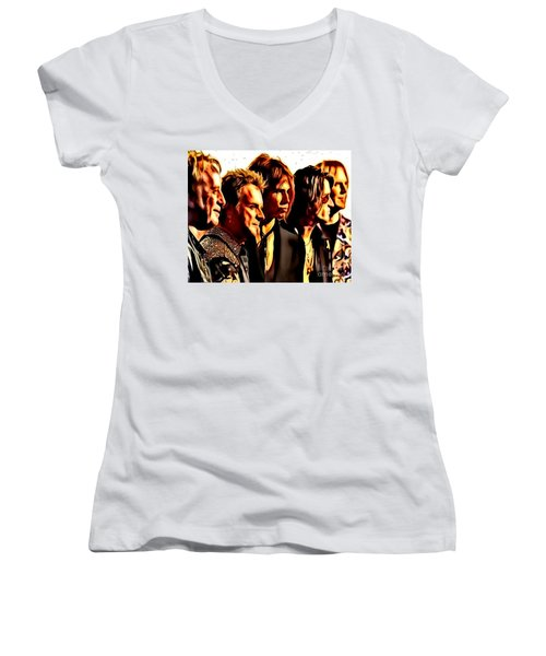Band Who Women's V-Neck