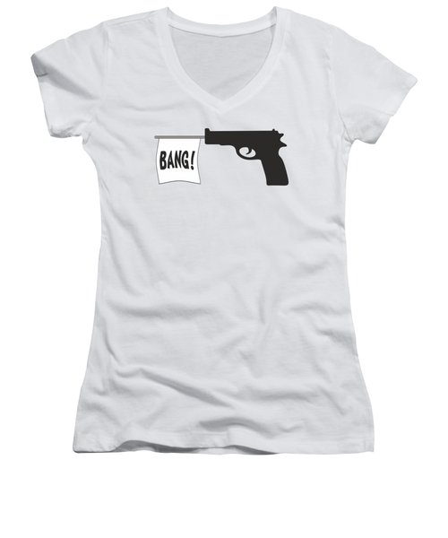Bang Women's V-Neck