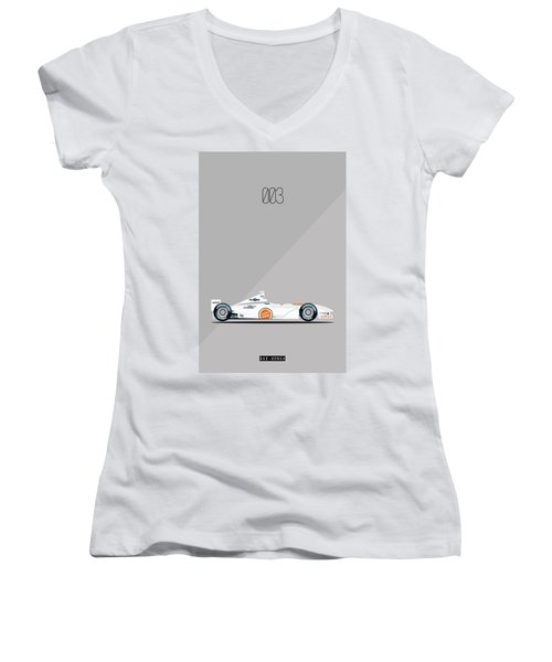 Bar Honda 003 F1 Poster Women's V-Neck T-Shirt