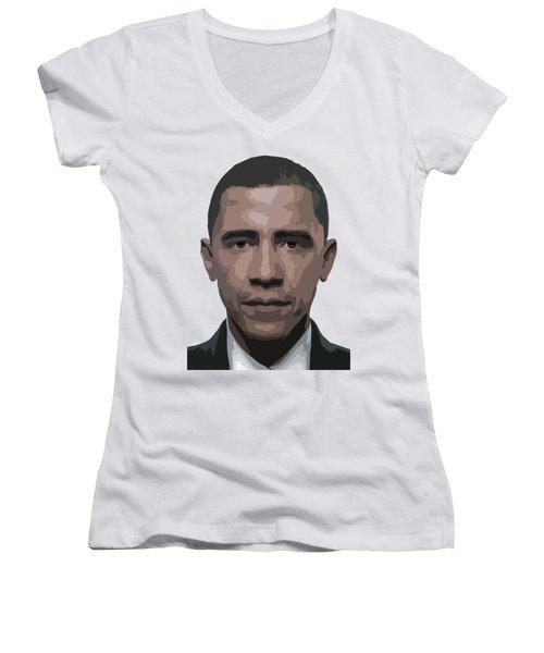 Barack Obama Women's V-Neck T-Shirt