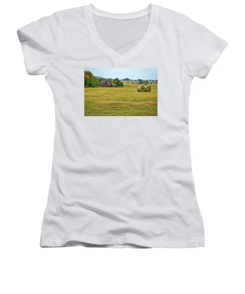 Barn And Field Women's V-Neck