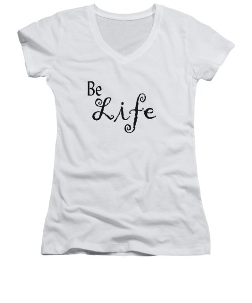 Be Life Women's V-Neck (Athletic Fit)