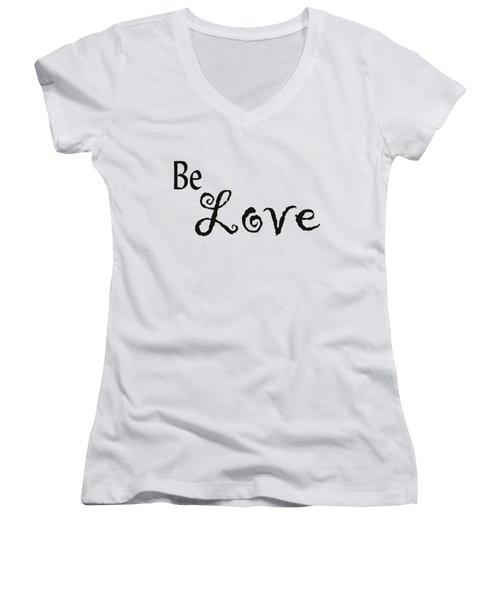 Be Love Women's V-Neck