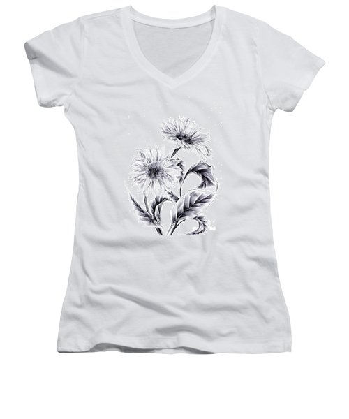 Be My Sun Women's V-Neck (Athletic Fit)