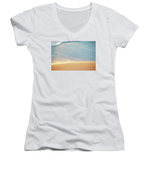Beach Caress Women's V-Neck T-Shirt