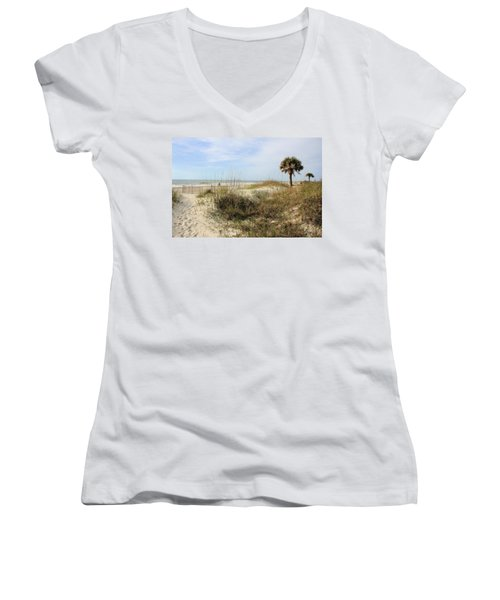 Beach Path Women's V-Neck