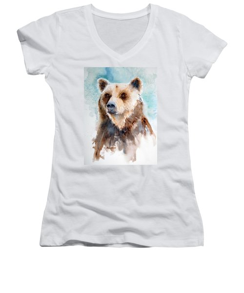 Bear Essentials Women's V-Neck (Athletic Fit)