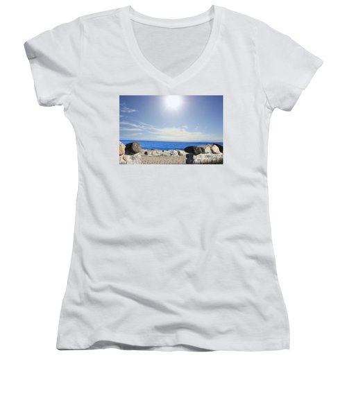 Beauty In The Distance Women's V-Neck T-Shirt