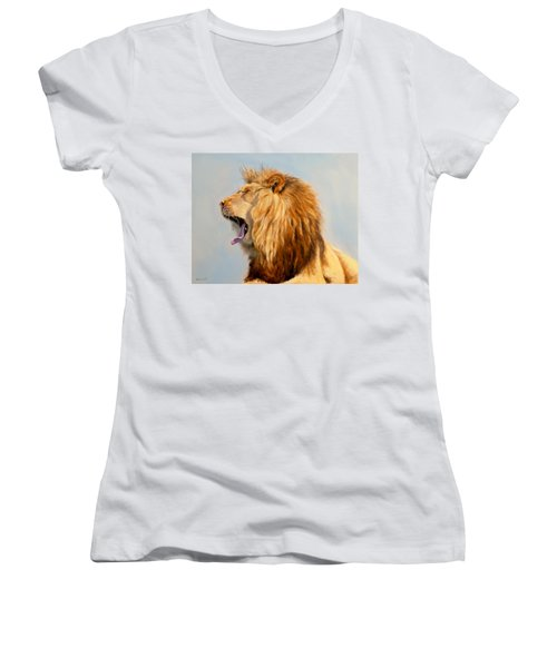 Bed Head - Lion Women's V-Neck