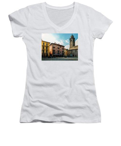 Bellagio, Lake Como, Italy. Women's V-Neck