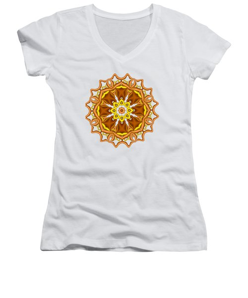 Bells And Flowers Women's V-Neck