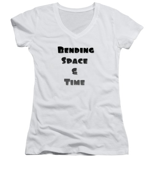 Bend Space And Time Women's V-Neck (Athletic Fit)
