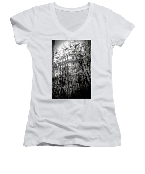 Between Two Worlds Women's V-Neck
