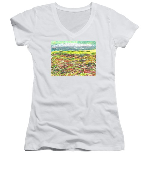 Beyond The Foothills Women's V-Neck T-Shirt