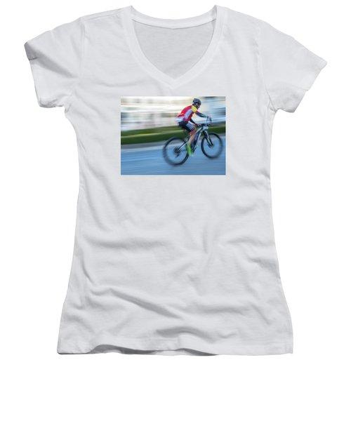 Bicycle Race Women's V-Neck