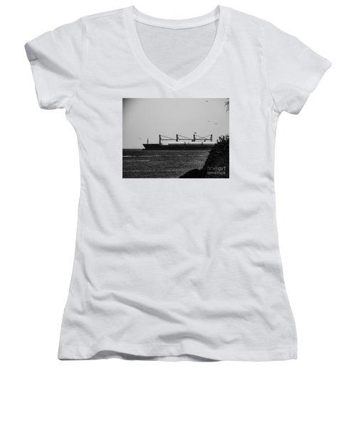 Big Ship Women's V-Neck