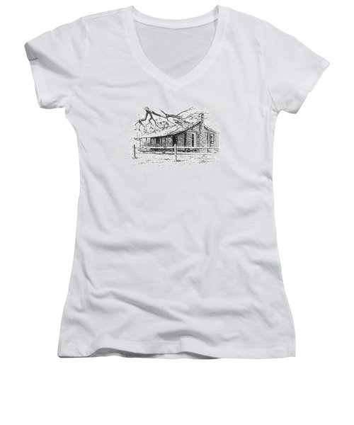 Big Thicket Information Center Women's V-Neck (Athletic Fit)