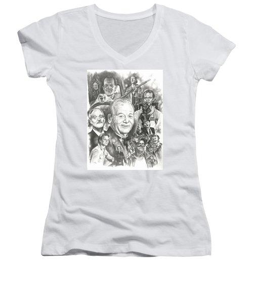 Bill Murray Women's V-Neck T-Shirt