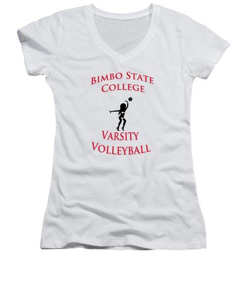 Bimbo State College - Varsity Volleyball Women's V-Neck