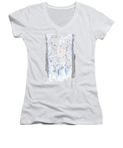 Bingham Fluid Or Paste Women's V-Neck T-Shirt