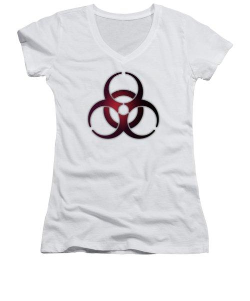 Biohazard Women's V-Neck
